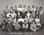 Mrs. Rightmeirer's 4th grade - Harmon 1954-55