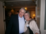 Gus Altick with Pam Gregg Amon at Moraine dinner